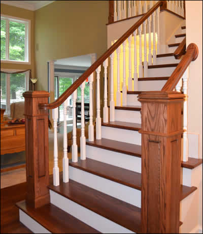 Staircase Services Davey Hardwood Floors Wisconsin